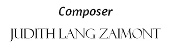 Composer​ Judith Lang Zaimont